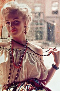 1956: Marilyn photographed by Milton Greene