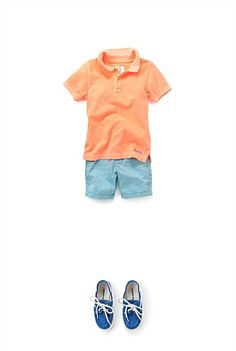 Classic Polo, Chino Shorts and Boat Shoes