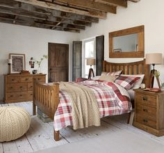Buy Shoreditch® Wooden Bedstead from the Next UK online shop