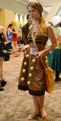 Doctor Who Cosplay haha he used a plunger and a whisk. Oh my whovians