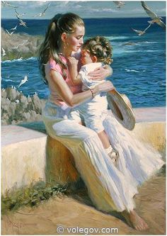 """Noisy Birds"" by Vladimir Volegov, 2009, painting, 92x65 cm, oil on canvas"