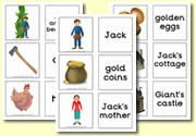 Jack and the Beanstalk Matching Cards Traditional Tales, Jack And The Beanstalk, Matching Cards, School Themes, Classroom Activities, Nursery Rhymes, Teaching Resources, Fairytale, Storytelling