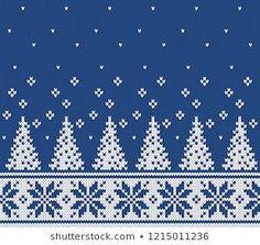 Fair Isle seamless knitting pattern – The Best Ideas Fair Isle Knitting Patterns, Christmas Knitting Patterns, Fair Isle Pattern, Knitting Charts, Knitting Stitches, Knitting Designs, Knitting Projects, Hat Patterns, Lace Knitting