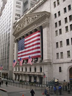 Wall Street, New York City. We toured the Stock Exchange, but that was before 9/11. No more tours given.