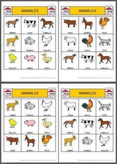 Conocer los animales de la granja. Nombre y fotos de los animales de la granja
