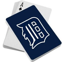 MLB Detroit Tigers Deck of Playing Cards
