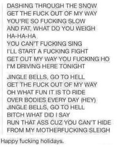 Why did I hear someone singing this in my head