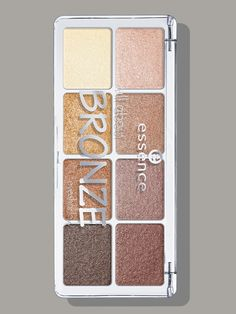 Essence All About Bronze Eyeshadow palette Eight buttery, pigmented bronze eye shadows for less than $6. Enough said.   Essence All About Bronze Eyeshadow palette, $5.49, target.com.   Photo Illustration: Jeremy Allen/Allure; courtesy of M.A.C. (product)