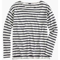 J Crew J.Crew Deck-striped T-shirt