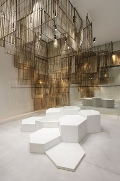 Diseños de Ciguë con pantallas de bambú para la tienda de Bangkok de Isabel Marant - Noticias de Arquitectura - Buscador de Arquitectura