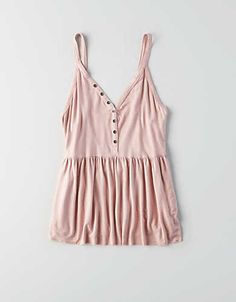 Soft & Sexy jersey is washed and treated for a one-of-a-kind feel, V-neck, Swing fit: Fitted at chest then flows, drapes and flares for a feminine shape, Lengt… Cute Summer Outfits, Pretty Outfits, Cute Outfits, Summer Clothes, American Eagle Dress, American Eagle Outfits, Teen Fashion Outfits, Casual Outfits, Swag Outfits