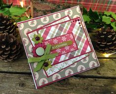 Dovecraft Back to Basics Traditional Christmas - It's Christmas card by Maxine