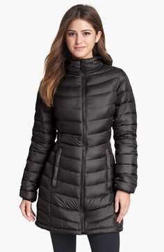 The North Face 'Jenae' Hooded Down Jacket (Nordstrom Exclusive) available at #Nordstrom