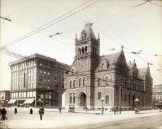 Dayton first post office.