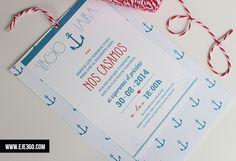 Invitación Marinera - La Tienda de Eje360