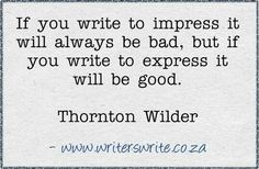 Write to express!