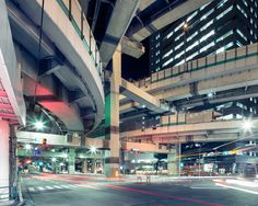 Las autopistas de Tokio según Thibaud Poirier