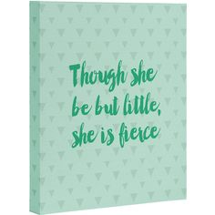 DENY Designs Allyson Johnson 'She Is Fierce' Wrapped Canvas (1.690 RUB) ❤ liked on Polyvore featuring home, home decor, wall art, colorful home decor, deny designs, canvas wall art, home wall decor and colorful wall art