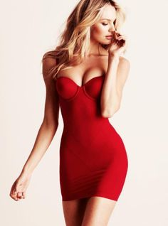 Nothing is sexier than a fitted red dress