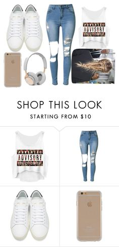 """""""Morning :)"""" by laneyy4375 ❤ liked on Polyvore featuring Yves Saint Laurent, Agent 18 and B&O Play"""
