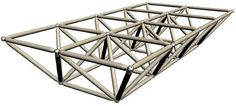 Triangulated Space Frame