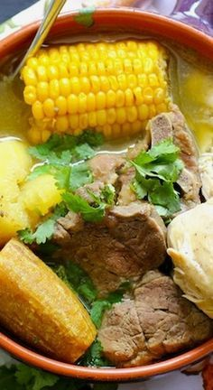 Sancocho Trifásico (Three Meats Sancocho) Puerto Rican Beef Stew