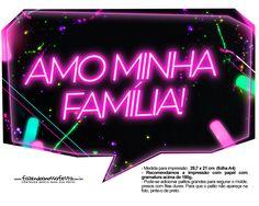 Plaquinhas Neon para Meninas 9