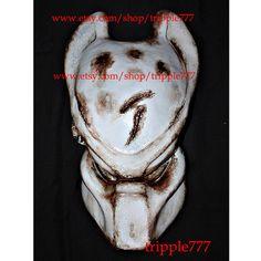 1:1 Full Scale Replica Predator mask, Predator costume, Predator helmet, Home decor, Wall mask, Halloween mask, Steampunk mask AVP PD10