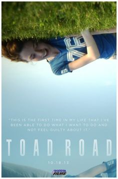 Toad Road (2013) A different kind of American independent horror film, the hypnotic Toad Road, presented by Elijah Wood and his SpectreVision production company, unfolds like a hallucinatory cross between the sexual candor of Larry Clark and Harmony Korine, and the backwoods creep-out of The Blair Witch Project.