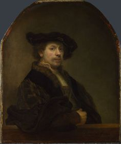 Rembrandt: 'Self Portrait at the Age of 34' - compare with his self-portrait at 63. Do we truly change, or is it just the trappings?