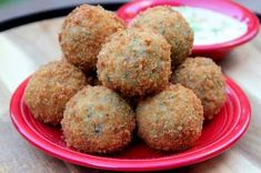 Boudin balls are a classic Louisiana Cajun Dish