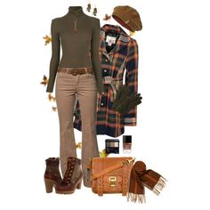 """""""Warm Colors on a Cold Day"""" by chrissykp on Polyvore"""