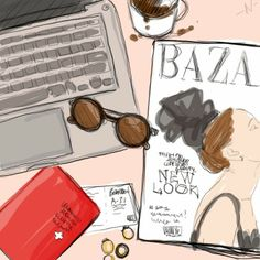 Bangbangblond |Blog mode Suisse - Swiss Fashion blog by Alison Liaudat: TIME TO GO Illustration, Blog, Fashion, Moda, Fashion Styles, Blogging, Illustrations, Fashion Illustrations
