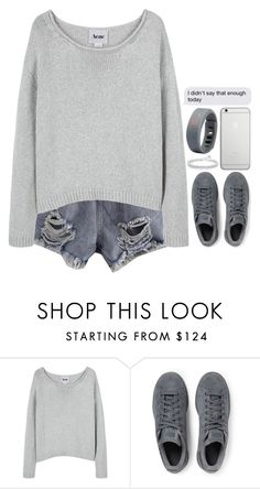 """""""Sammydress 48"""" by emilypondng ❤ liked on Polyvore featuring Acne Studios, adidas Originals and Native Union"""