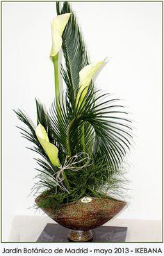 Palm Sunday. Floral Arrangement