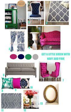colours & patterns    via designparduex.com