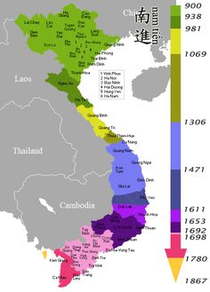 March to the South: Nine Century of Vietnamese Territorial Expansion
