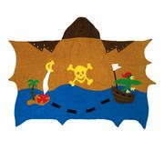 Pirate Towel for your little Mate! SAVE10% Today ONLY! ~ use coupon code FALL10 ~ http://bluegiraffeboutique.com/kids-towels/