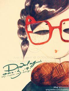 Girl with Glasses - Dodolog