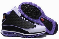 Air Jordan XIII Max Fusion Black White Purple