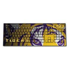 LSU Tigers Wireless Keyboard