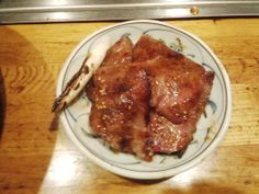 grilled horse meat
