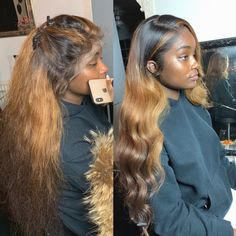 focus on all kinds of top quality lace wigs and human hair extensions - My Crowned Wigs 100 Human Hair, Human Hair Wigs, Curly Hair Styles, Natural Hair Styles, Birthday Hair, Hair Laid, Weave Hairstyles, Prom Hairstyles, Trendy Hairstyles