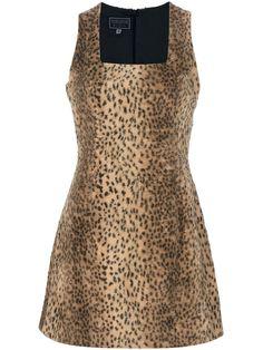 Versus Vintage Leopard Print Dress - House Of Liza - Farfetch.com