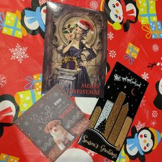 Thanks @decadentmadamez @lace_louise & @ella_scandal @scandarella for the Christmas cards! Merry Christmas xx