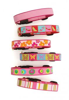 Shaggy Chic Pet Boutique - Pink-a-Dilly Collection (Wide Width), $19.00 (http://www.shaggychicpets.com/pink-a-dilly-collection-wide-width/)