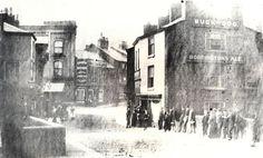 Lancashire Bridge 1890, Buck & Dog