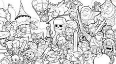 Excellent Picture of Clash Royale Coloring Pages . Clash Royale Coloring Pages Barbarian Clash Royale Coloring Pages Golfclub Halloween Coloring Pages, Coloring Pages To Print, Free Printable Coloring Pages, Coloring Pages For Kids, Coloring Books, Clash Clans, Scooby Snacks, Goblin, Minion