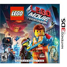 Caden's 10th bday!  The LEGO Movie Videogame for Nintendo 3DS