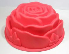 1pcs Big Rose Food Grade Silicone Cake Mold DIY Mold